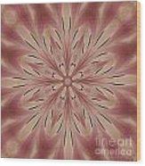 Star Magnolia Medallion 3 Wood Print