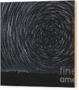 Star-nado Wood Print