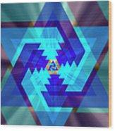 Star Of David 1 Wood Print