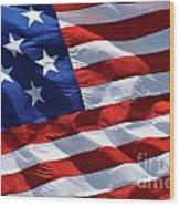 Star Spangled Banner - D001883 Wood Print