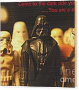 Star Wars Gang 4 Wood Print
