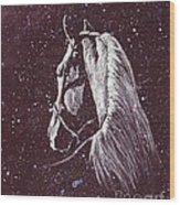 Starlight Serenade Wood Print