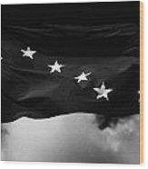 Starry Plough Flag Irish National Liberation Army Inla Ireland Wood Print
