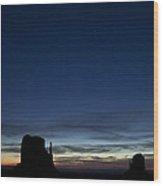 Starry Skies In The West Wood Print by Andrew Soundarajan