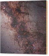 Stars, Nebulae And Dust Clouds Wood Print