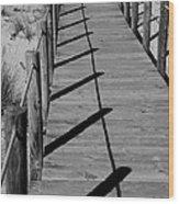 Station Boardwalk Wood Print
