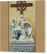 Station Of The Cross 03 Wood Print