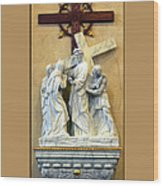 Station Of The Cross 04 Wood Print