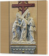 Station Of The Cross 05 Wood Print
