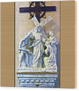 Station Of The Cross 08 Wood Print