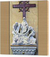 Station Of The Cross 09 Wood Print