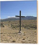 Stations Of The Cross  Wood Print