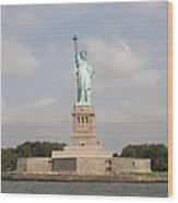 Statue Of Liberty 1 Wood Print