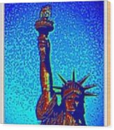 Statue Of Liberty-4 Wood Print