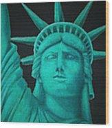 Statue Of Liberty ... Wood Print
