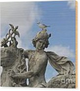 Statue . Place De La Concorde. Paris. France Wood Print