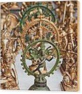Statues For Sale Of Hindu Gods Wood Print