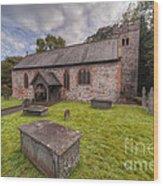 St.dyfnog's Church Wood Print by Adrian Evans