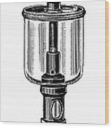 Steam Engine Lubricator Wood Print