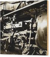 Steam Power II Wood Print