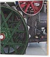 Steam Power Wood Print