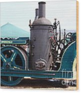 Steam Powered Roller 7d15116 Wood Print