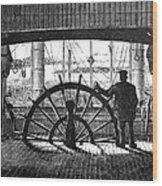 Steamboat: Great Republic Wood Print