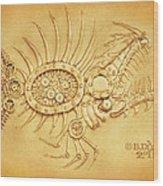 Steamfish 2 Wood Print
