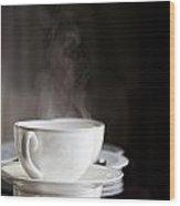 Steaming Wood Print