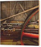 Steampunk - Machine - The Wheel Works Wood Print