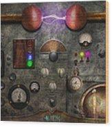 Steampunk - The Modulator Wood Print