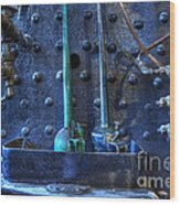 Steampunk 3 Wood Print by Bob Christopher
