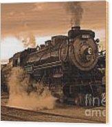 Steamtown Engine 2317 Wood Print