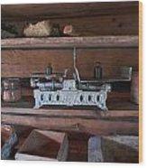 Steelyard Wood Print