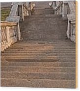 Steps Wood Print