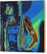 Steven In Spokane 1e Wood Print