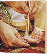 Sthaalipaakam Wood Print