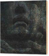 Stiff Upper Lip Wood Print