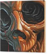 Still Bleeding Wood Print