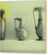 Still Life - Roman Pitchers Wood Print