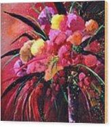 Still Life 0101 Wood Print