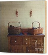Still Life American Colonial Wood Print