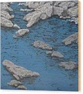 Still Waters Wood Print