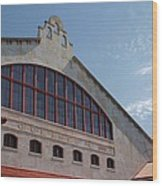 Stockyards Coliseum Wood Print