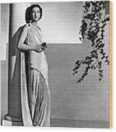 Stolen Holiday, Kay Francis, 1937 Wood Print