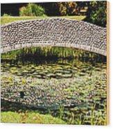 Stone Bridge Wood Print