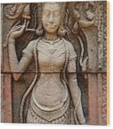 Stone Carving 2 Wood Print