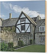 Stone Cottages In Broadway - Gloucestershire Wood Print