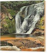Stone Mountain Window Falls Wood Print