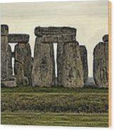 Stonehenge Monument Wood Print